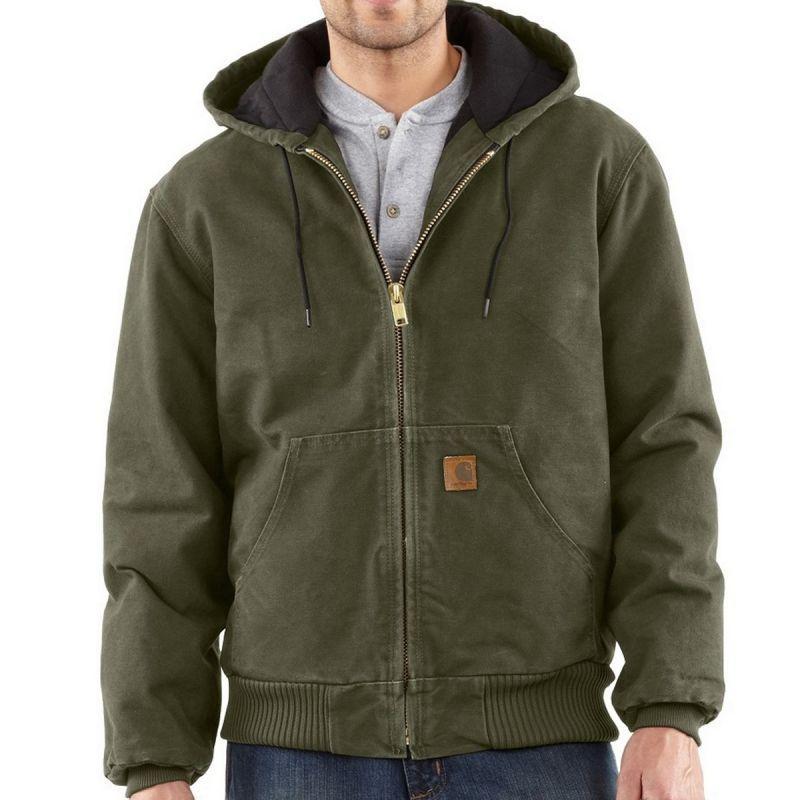 画像1: カーハート サンドストーン アクティブ ジャケット アーミーグリーン/Carhartt Sandstone Active Jacket (1)