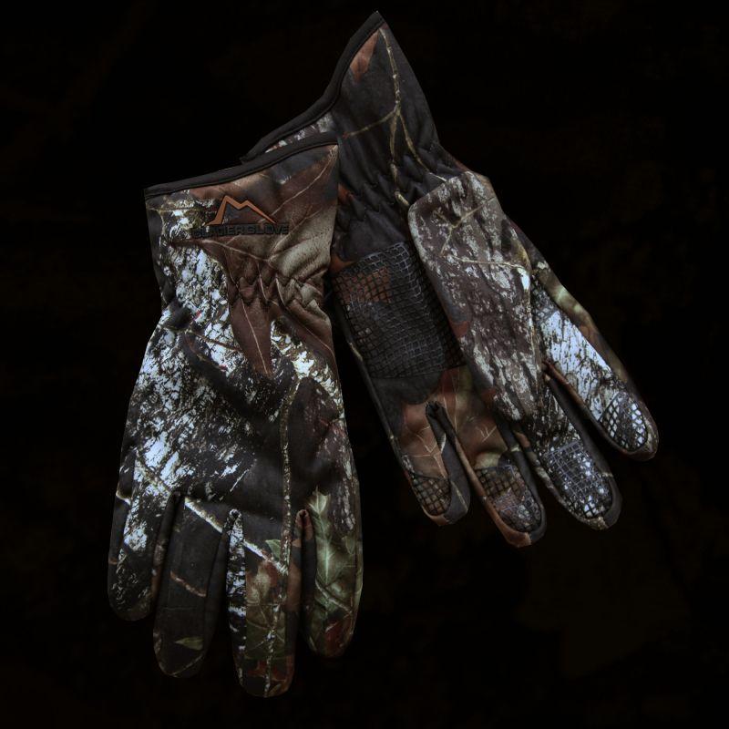 画像1: カモ ハンティング グローブ/Camo Hunting Gloves (1)