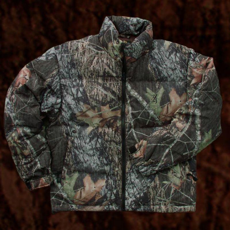 画像1: モッシー オーク カモ グース ダウン ジャケットS/Goose Down Jacket