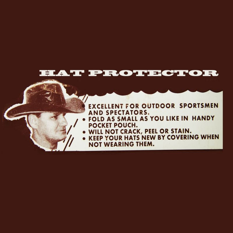 画像2: ハット レイン カバー 雨の日のハットプロテクター/Vinyl  Hat Protector