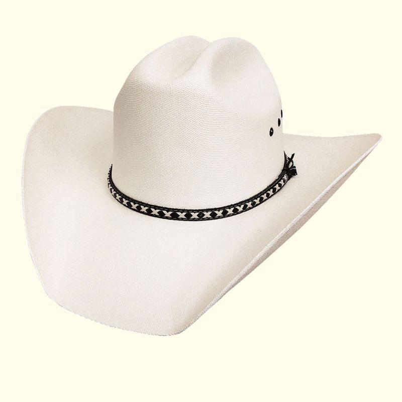画像1: ブルハイド 10X ウエスタン ストロー ハット イングルウッド(オフホワイト)/BULLHIDE Western Straw Hat Englewood (Off White)
