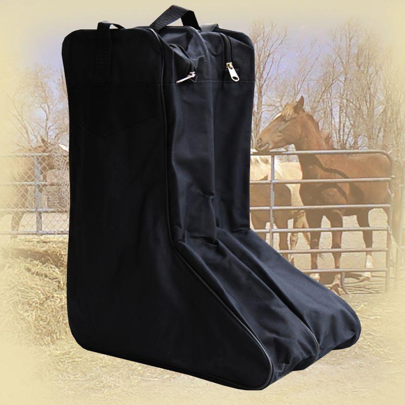 画像1: ブーツ バッグ(ブラック)/Boot Bag(Black) (1)