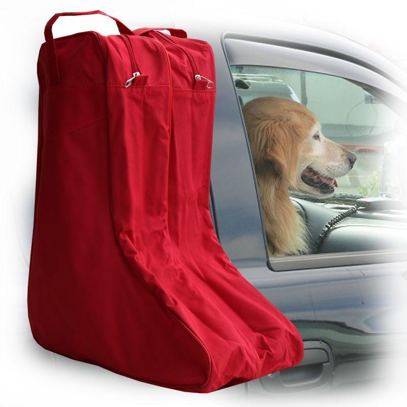 画像1: ブーツ バッグ(レッド)/Boot Bag(Red)