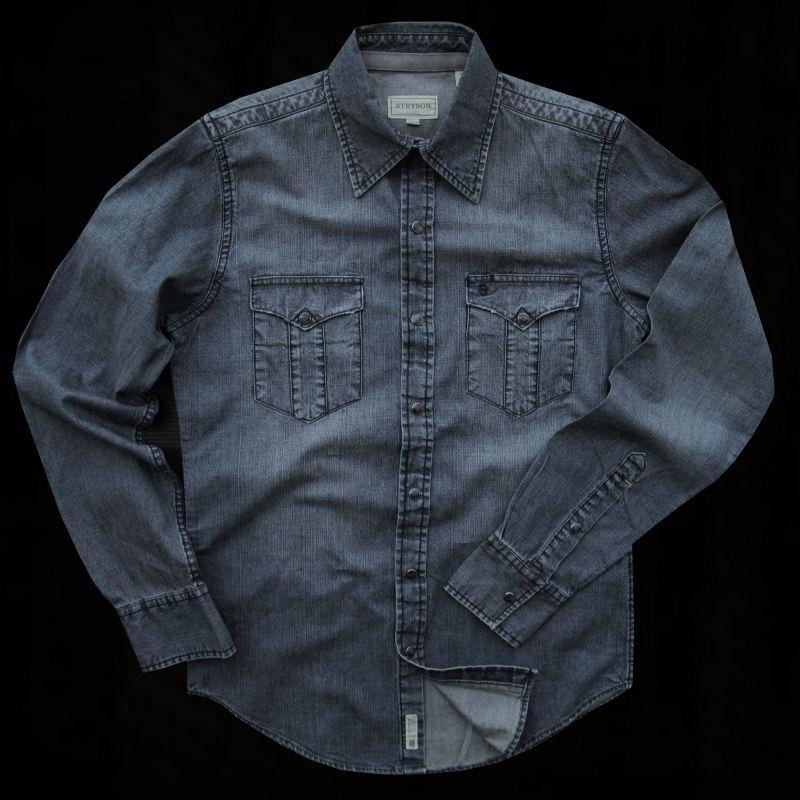 画像1: ステットソン ウエスタン デニム シャツ/Denim Shirt (1)