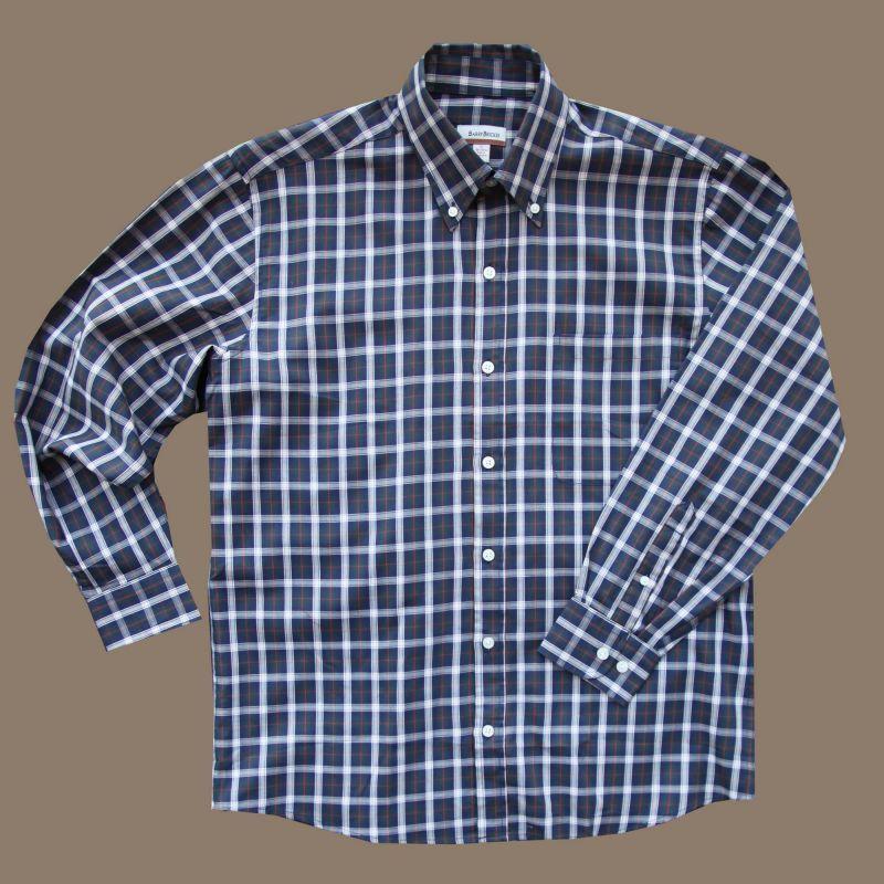 画像1: バリーブリッケン ボタンダウン シャツ ブルー(長袖)/Barry Bricken Long Sleeve Shirt (1)