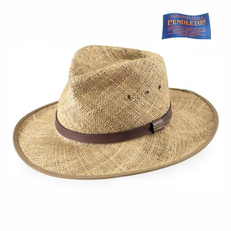 画像1: ペンドルトン レザーバンド ストローハット/Pendleton Straw Hat (1)