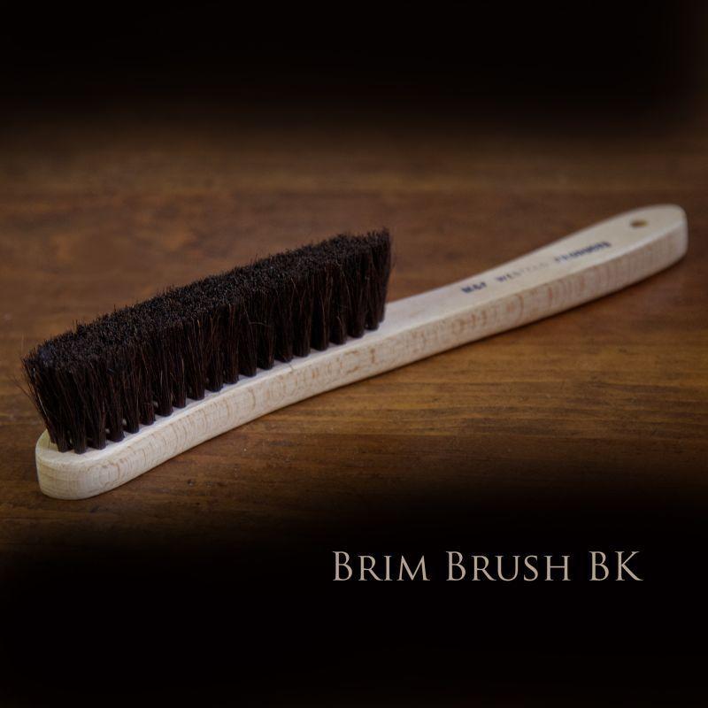 画像1: ハット用 ブラシ ブリムブラシ(ブラック)/Hat Brush Brim Brush Black (1)
