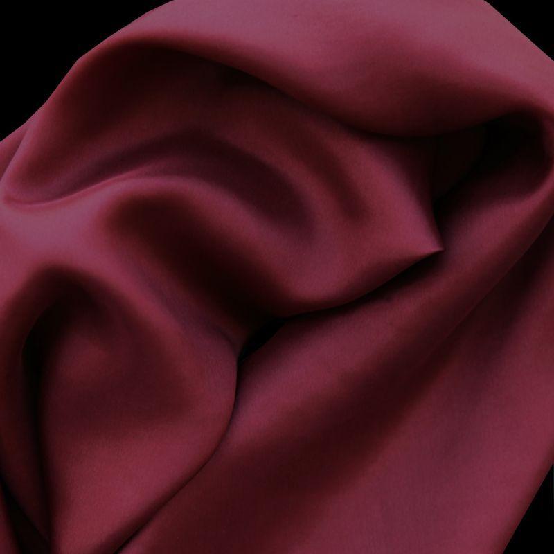 画像1: ワイルドラグ(カウボーイ大判スカーフ)ソリッド バーガンディー/100% Silk Wild Rags