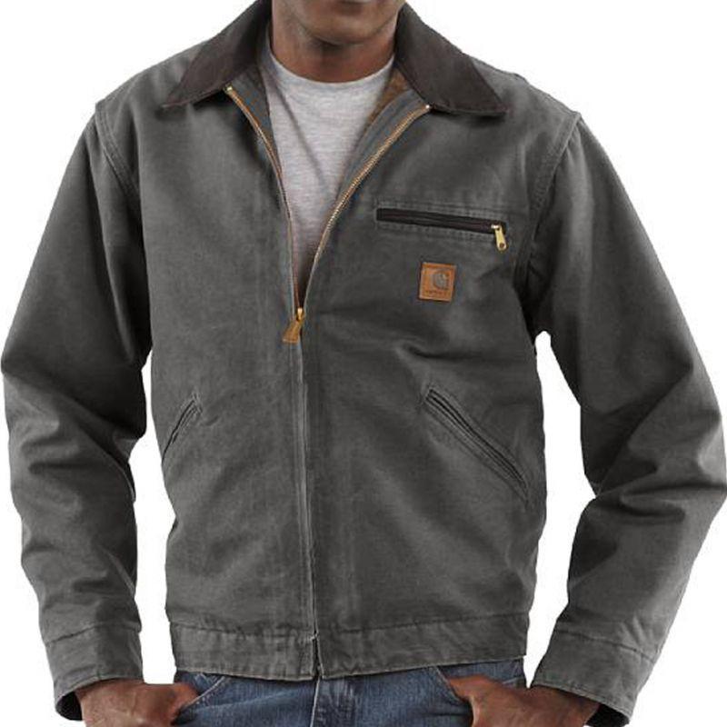 画像1: カーハートデトロイトジャケット(グラベル)L・XL/Carhartt Detroit Jacket (1)