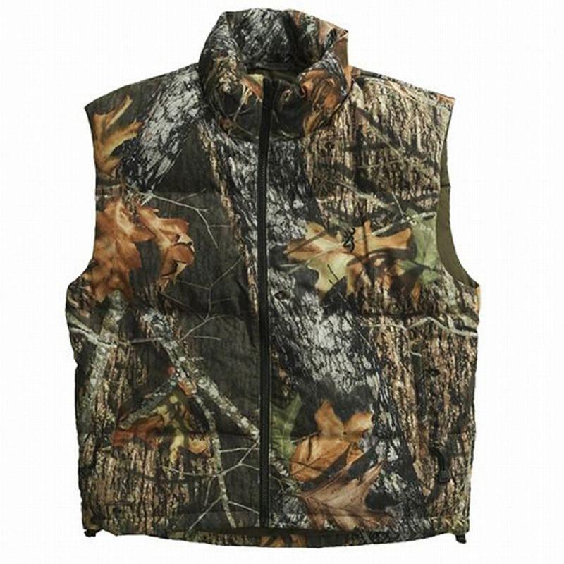 画像1: モッシー オーク カモ グース ダウン ベスト/Goose Down Vest