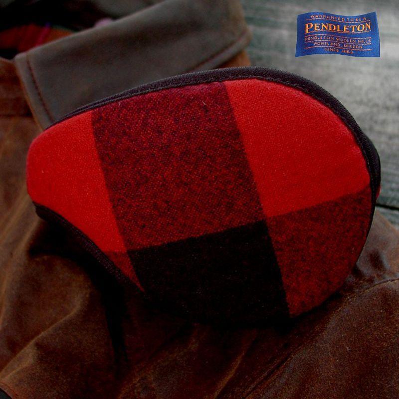 画像1: ペンドルトン イヤーウォーマー・100%ヴァージン ウール イアースナグ(バッファーローチェック)/Pendlton Ear Snugs(Rob Roy Plaid)