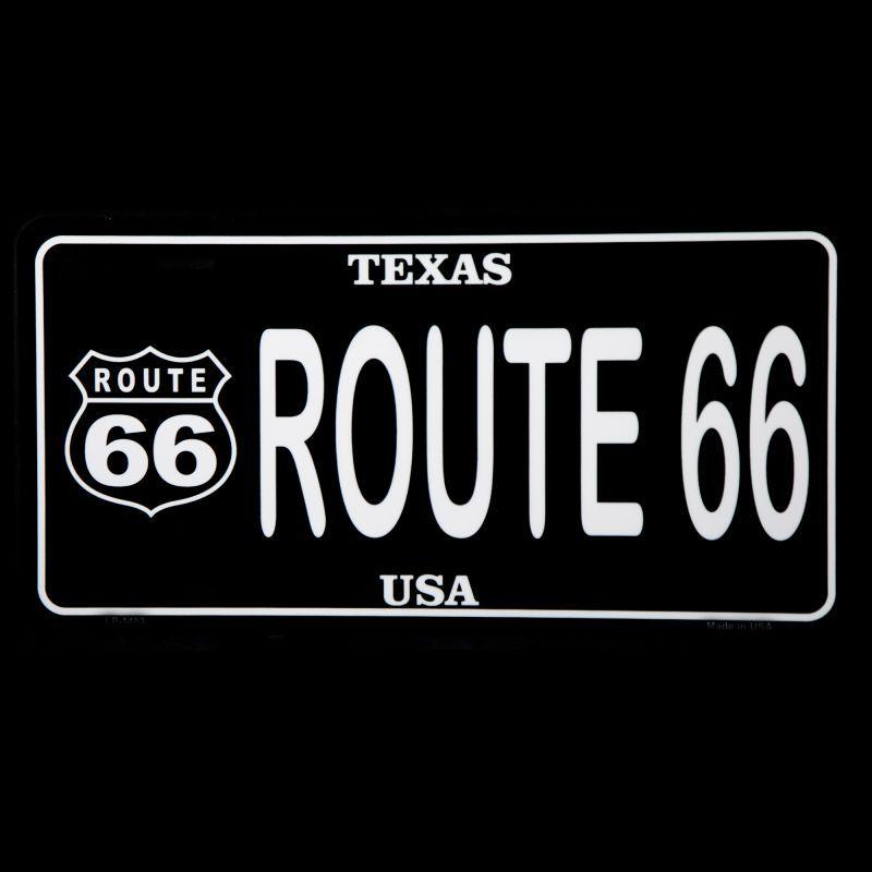 画像1: ルート66 テキサス U.S.A ライセンスプレート/License Plate (1)