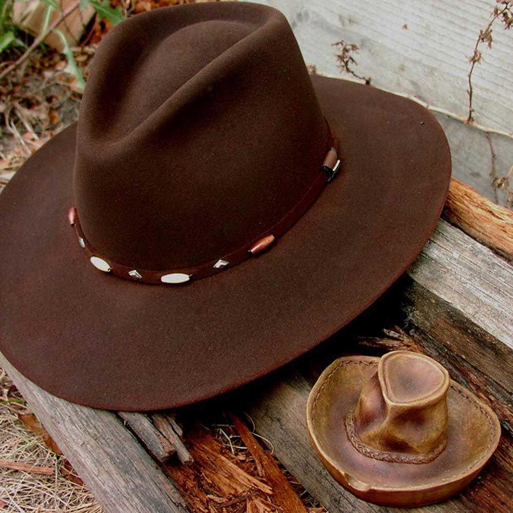 画像1: カウボーイハット アッシュトレイ/Cowboy Hat Ashtray