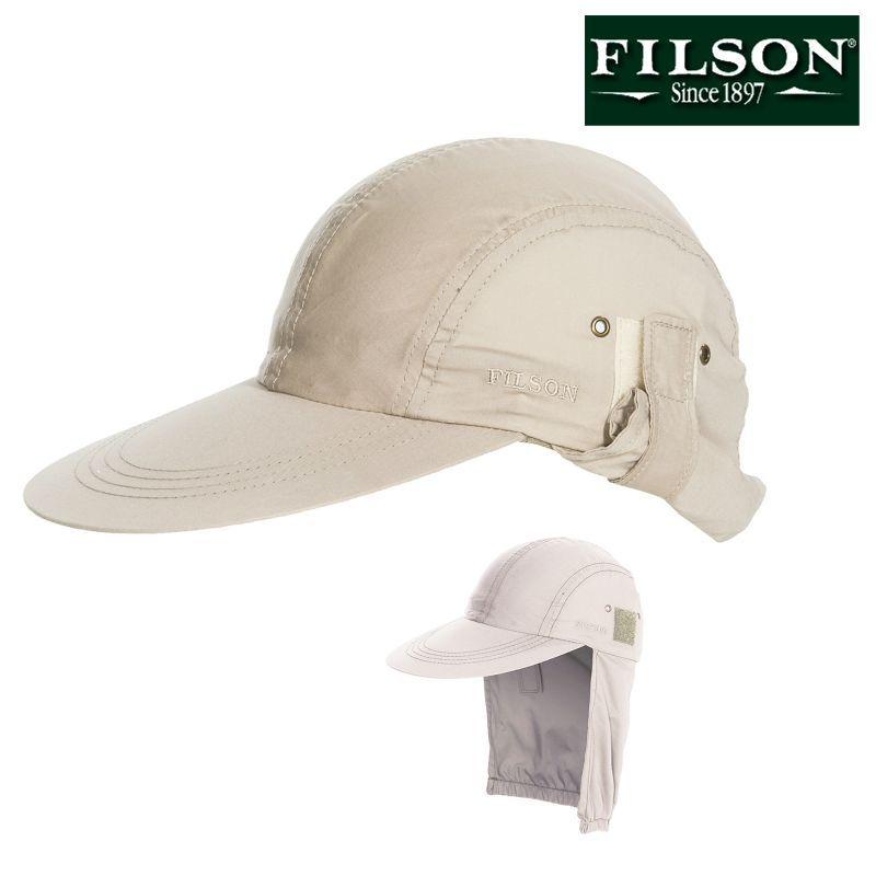 画像1: フィルソン フェザークロス サンプロテクション キャップ/Filson Cap (1)
