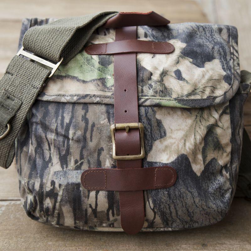 画像1: スモールショルダーバッグ(カモ)/Small Field Bag(Camo)