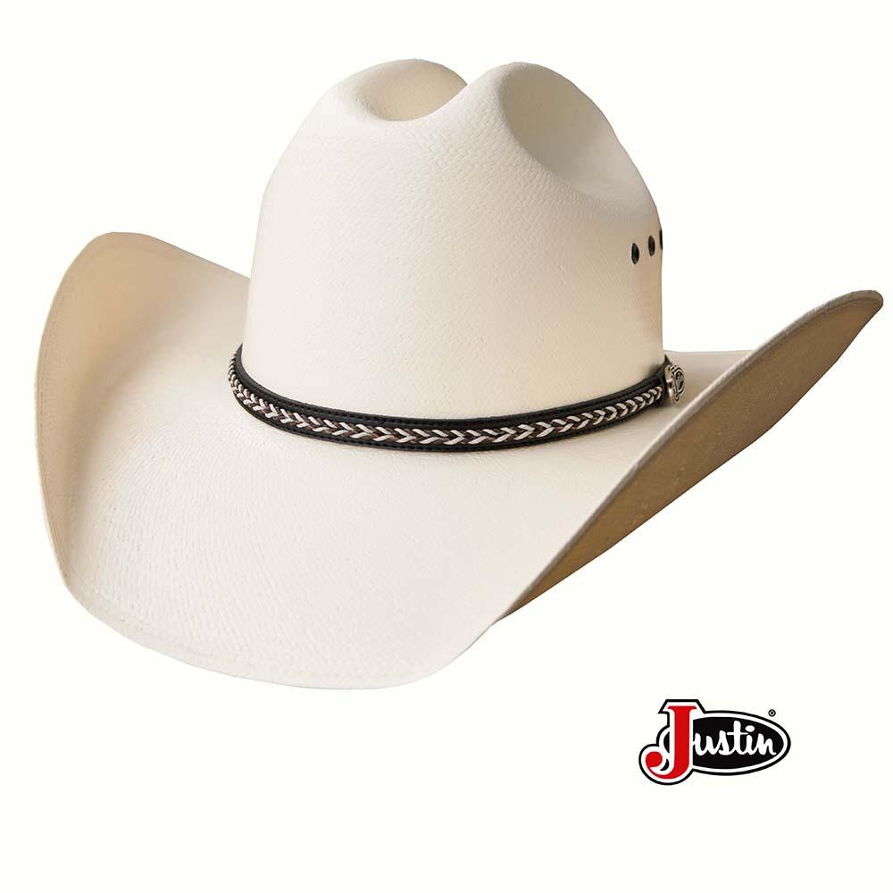 画像1: ジャスティン 20X ストロー カウボーイハット/Justin Western Straw Hat (1)