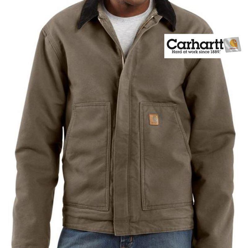 画像1: カーハート サンドストーン ディアボーン ジャケット マッシュルームS/Carhartt Sandstone Jacket