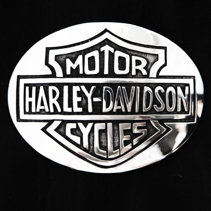 harley davidson 1 harley davidson silver buckle voltagebd Choice Image