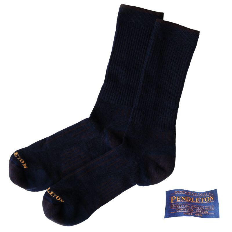 画像1: ペンドルトン ウールソックス(インディゴ)/Pendleton Socks(Indigo)