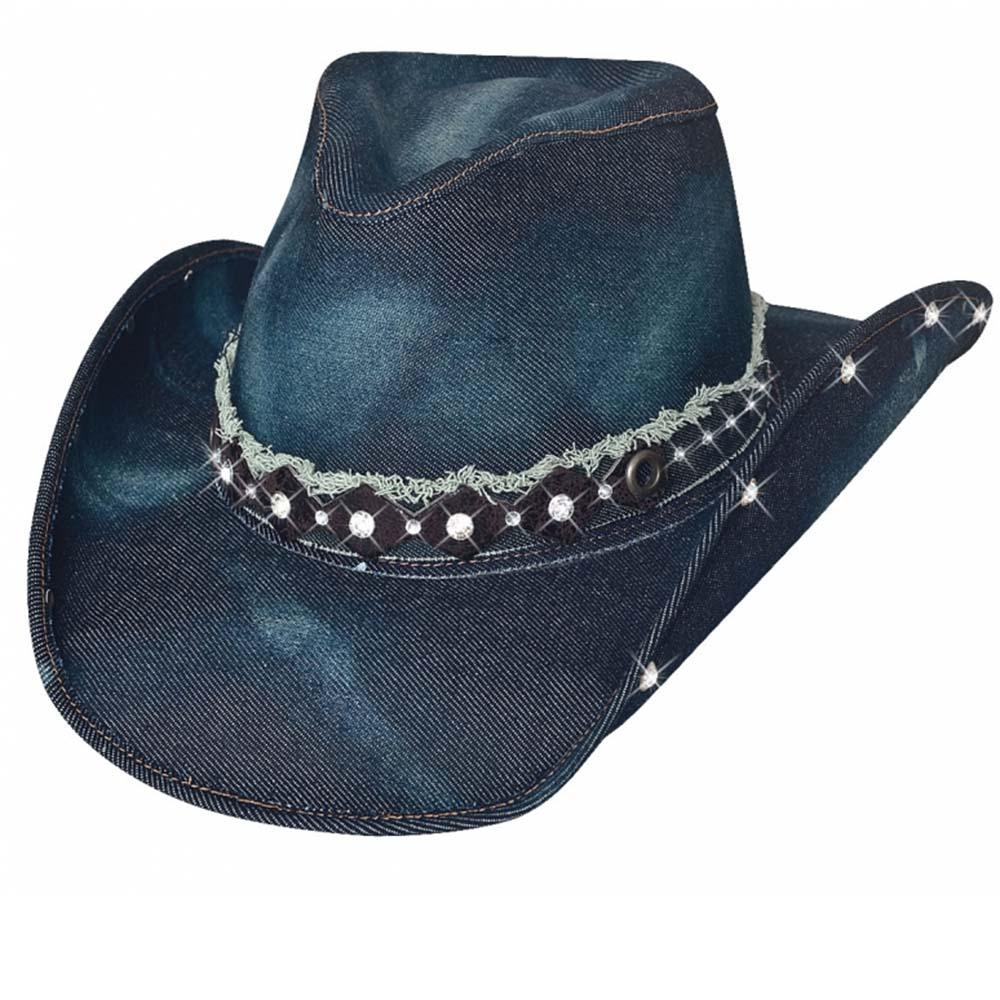 画像1: ブルハイド デニム ハット ベターザンイエスタデイ ブルー/Bullhide Denim Hat(Better Than Yesterday)