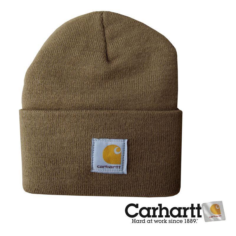 画像1: カーハート ウォッチ キャップ(ワッチ キャップ)ブラウン/Carhartt Acrylic Watch Cap (1)