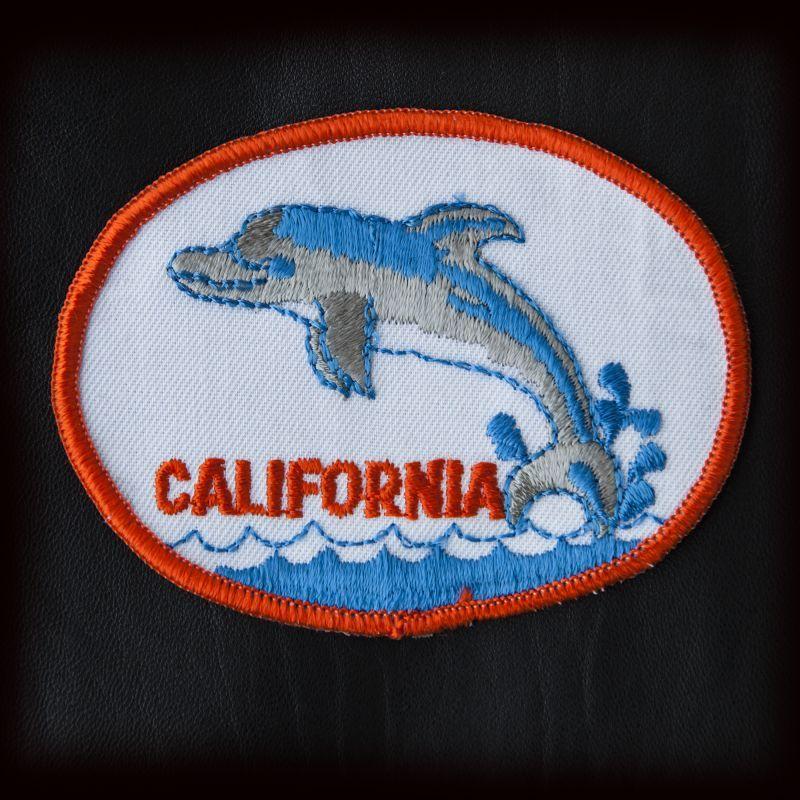 画像1: ワッペン カリフォルニア ドルフィン/Patch California Dolphin  (1)