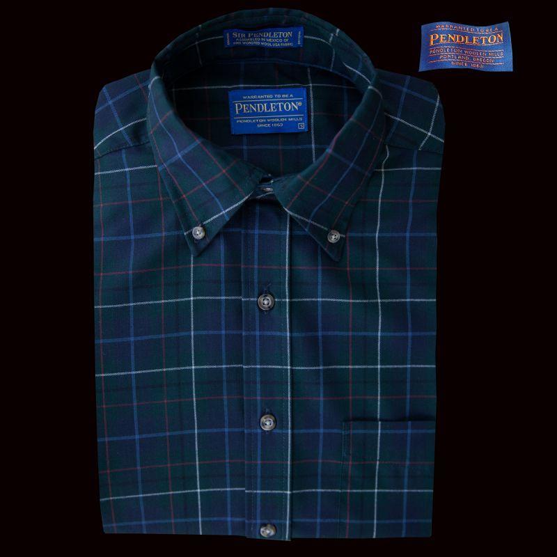 画像1: ペンドルトン サーペンドルトン ウールシャツ(ペンドルトン ハンティング タータン)S/Pendleton Sir Pendleton Wool Shirt(Pendleton Hunting Tartan) (1)