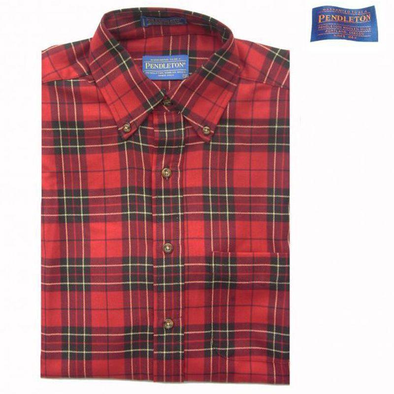 画像1: ペンドルトン サーペンドルトン ウールシャツ Brodie Tartan S/Pendleton Sir Pendleton Wool Shirt