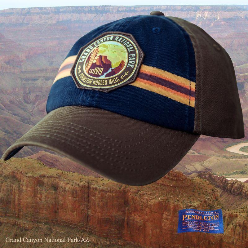 画像1: ペンドルトン ナショナルパーク 国立公園 キャップ(グランドキャニオン)/Pendleton National Park Cap(Navy Grand Canyon) (1)