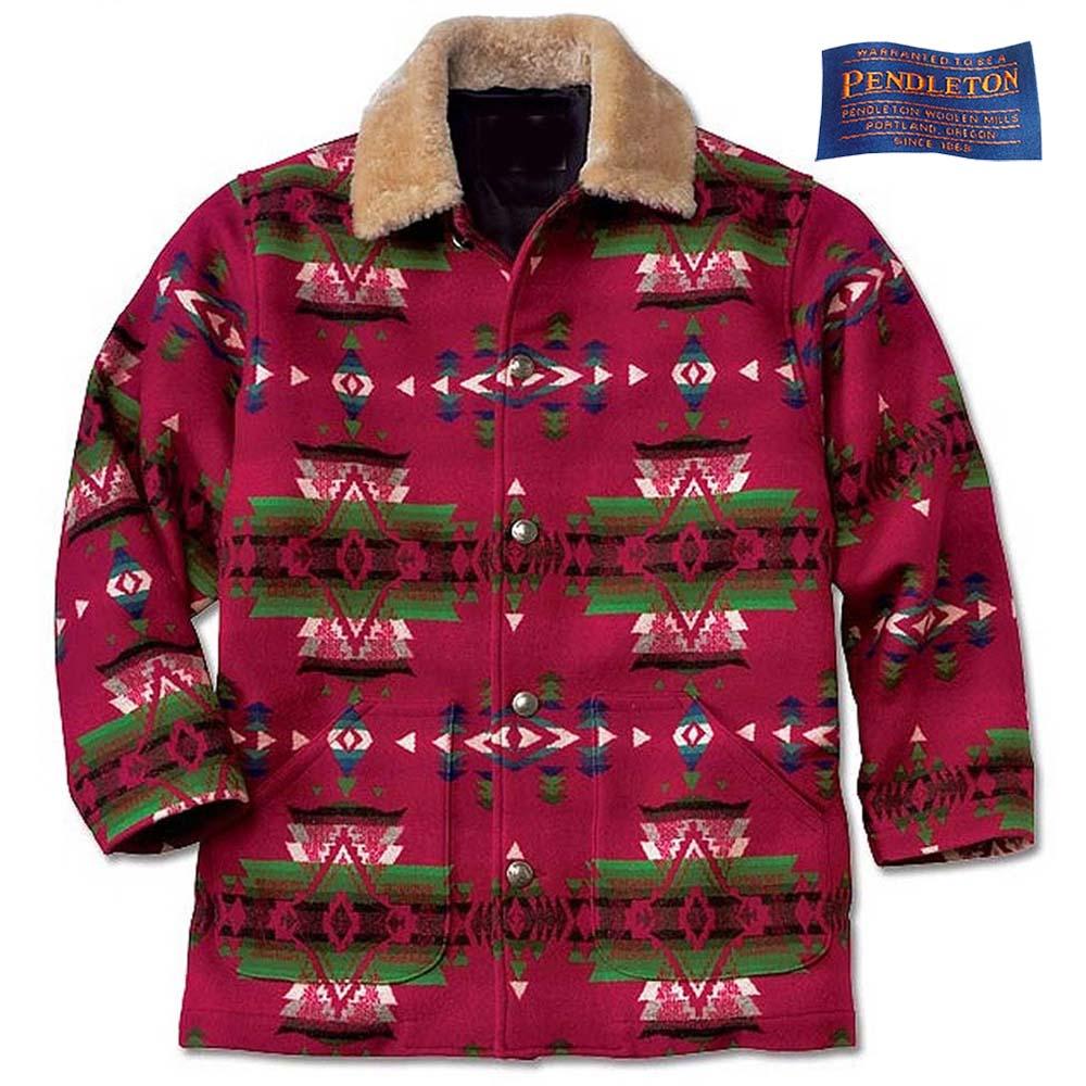 画像1: オービス ペンドルトン ウールコート/Orvis Pendleton Wool Coat (1)