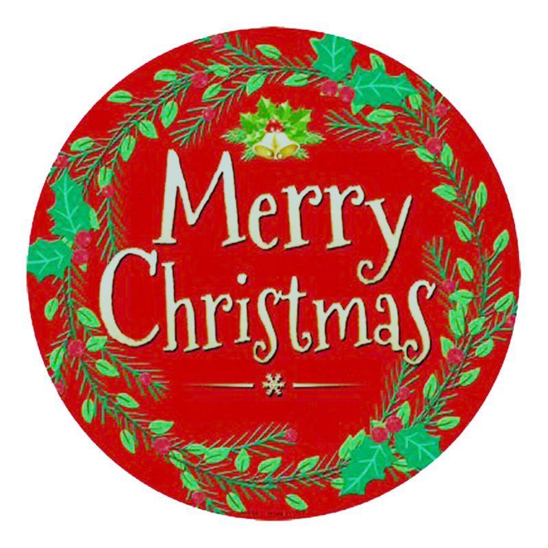 画像1: クリスマス メタルサイン メリークリスマス/Metal Sign Merry Christmas