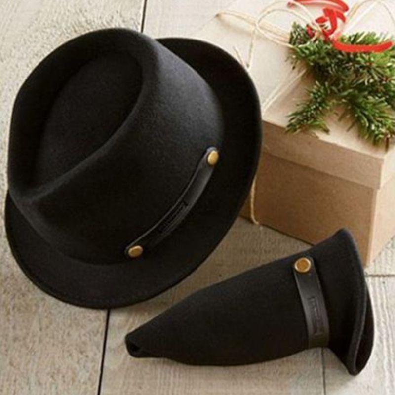 画像1: ペンドルトン ロールアップ スティンジーブリム ハット(ブラック)/Pendleton Roll-up Stingy Brim Hat (1)