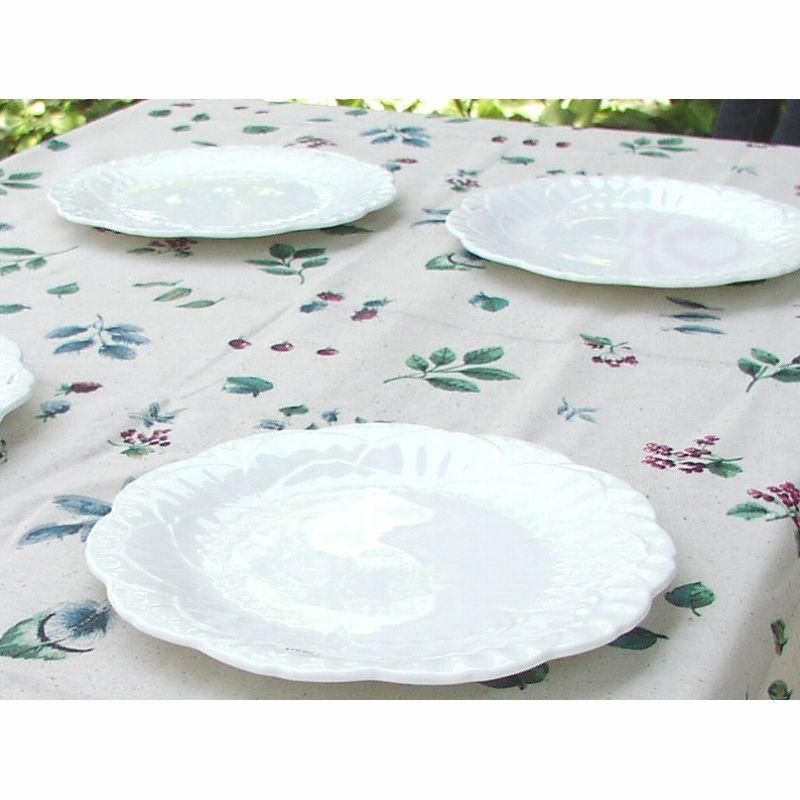 """画像1: テーブルクロス Leaf/Fine Fabric Tabletop Fashions 52""""×70""""Oblong (1)"""