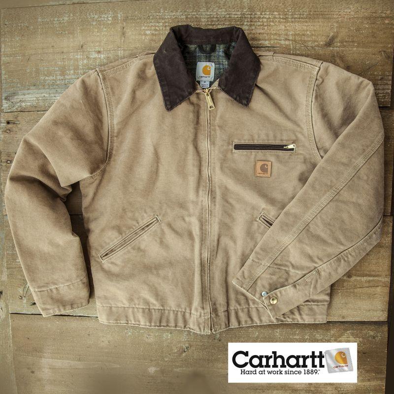 画像1: カーハートデトロイトジャケット(フロンティアブラウン)/Carhartt Detroit Jacket