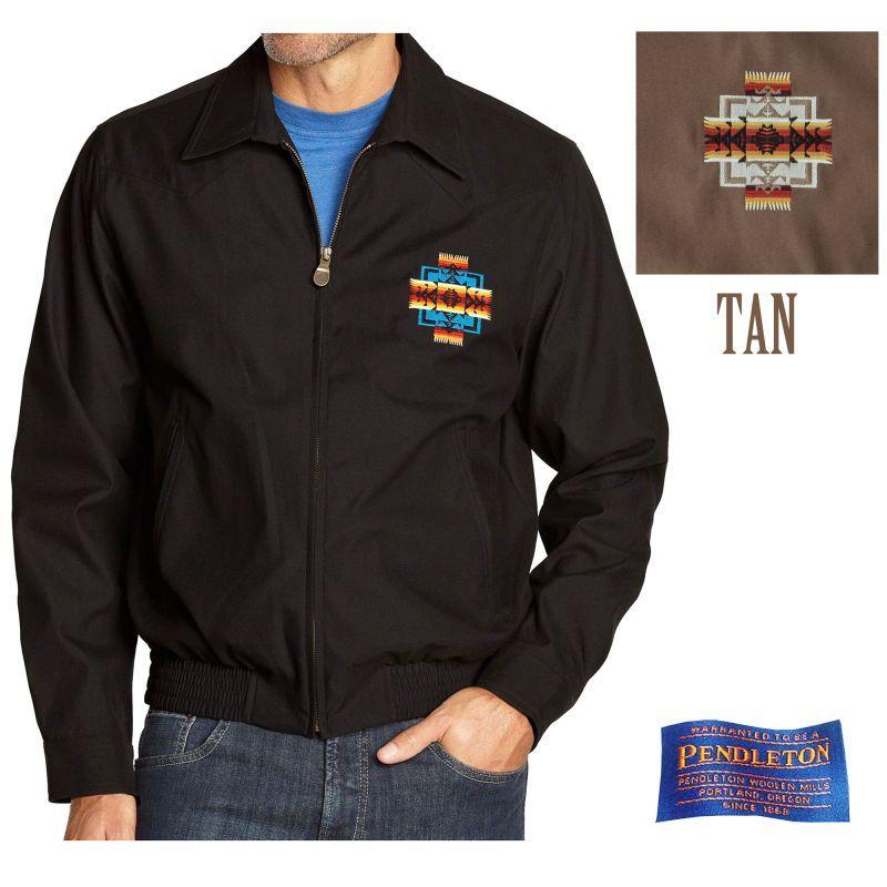 画像1: ペンドルトン チーフジョセフ ジャケット タン/Pendleton Jacket(Chief Joseph Tan) (1)