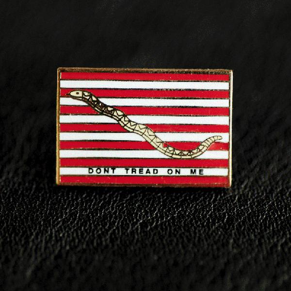 画像1: ピンバッジ ファーストネイビージャック/Pin  (1)