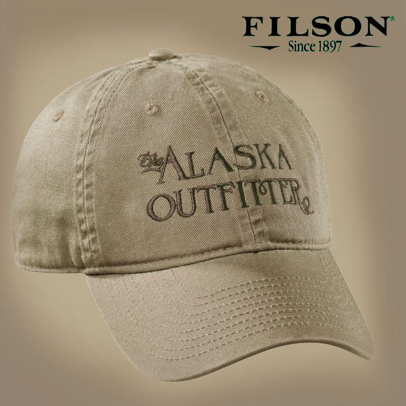 画像1: フィルソン アラスカ アウトフィッターズ キャップ(タン)/Filson Cap (1)