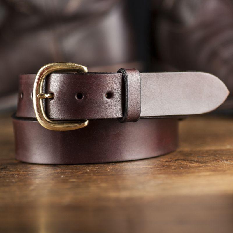 """画像1: ファニー 38mm ハーネス ベルト(ブラウン)/Funny 1-1/2""""Harness Belt(Brown) (1)"""