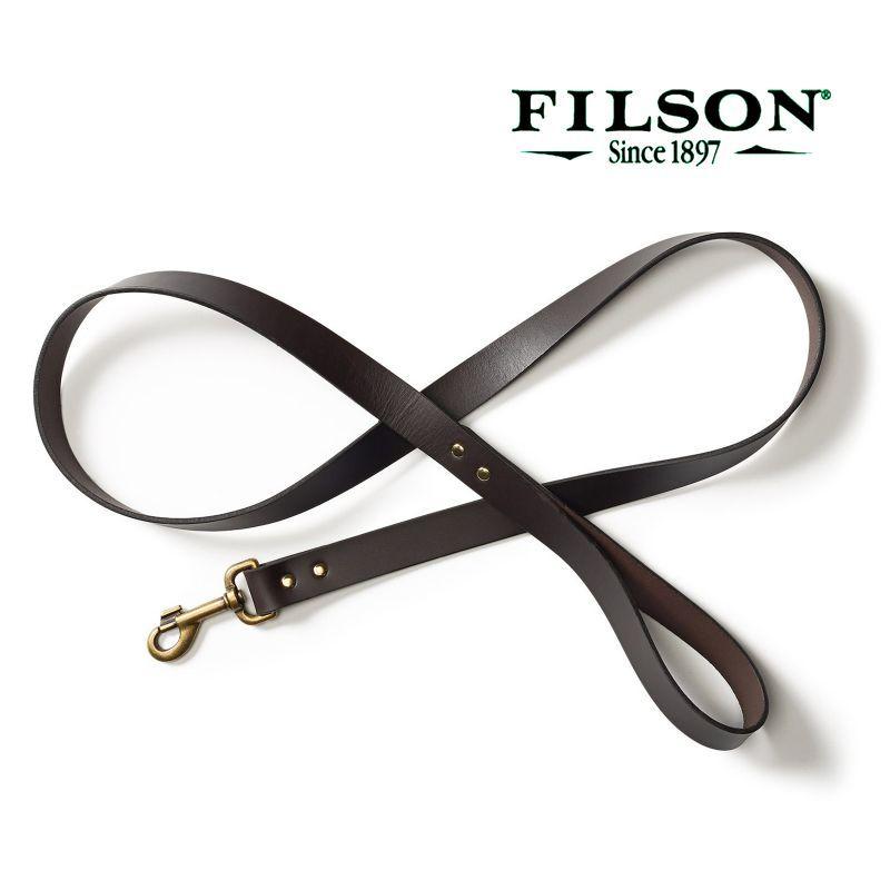 画像1: フィルソン 愛犬用 ドッグ レザーリード/Filson Bridle Leather Dog Lead