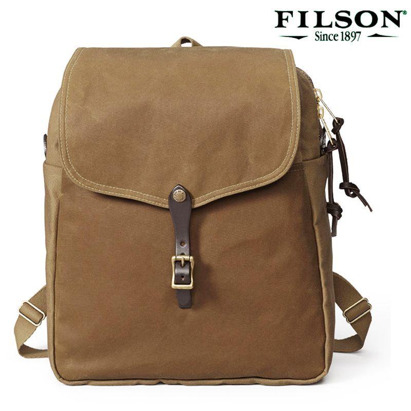 画像1: フィルソン バックパック(タン)/Filson Backpack(Tan) (1)