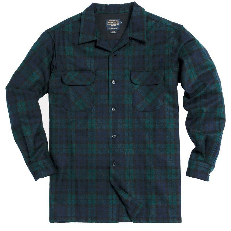 画像2: ペンドルトン ウールシャツ ボードシャツ ブラックウォッチタータン/Pendleton Board Shirt(Black Watch Tartan)