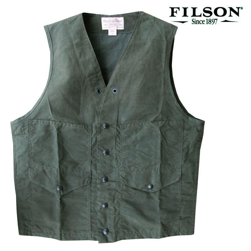 画像1: フィルソン クルーザー ベスト(マグナムブラック)/Filson Cruiser Vest(Magnum Black) (1)