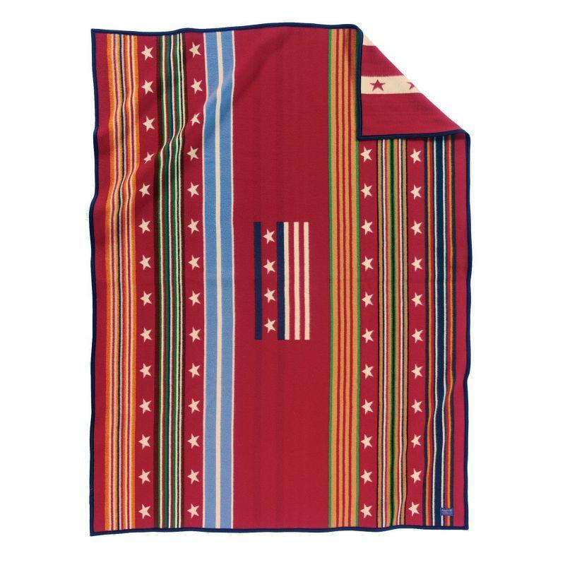 画像1: ペンドルトン ブランケット グレイトフル ネイション/Pendleton Grateful Nation Blanket (1)