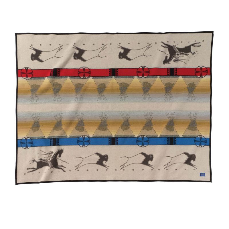 画像1: ペンドルトン ブランケット ラコタウェイオブライフ /Pendleton Lakota Way of Life Blanket (1)