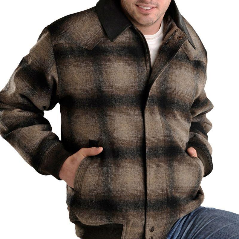 画像1: パウダーリバー ウエスタン コート(ブラウン)M/Powder River Coat (1)