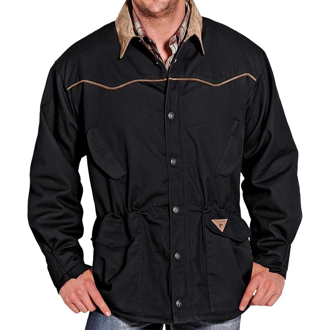 画像1: パウダーリバー ランチャー コート(ブラック)M/Powder River Coat (1)