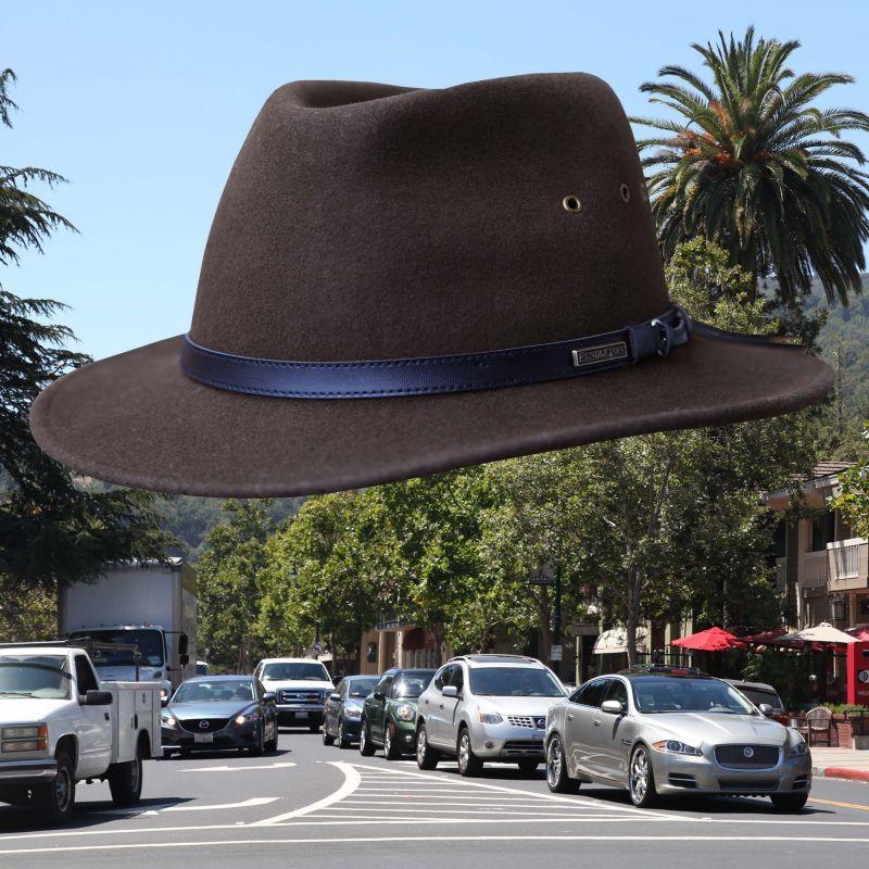 画像1: ペンドルトン ゲタウェイ ハット(ダークオリーブ)/Pendleton Gataway Hat