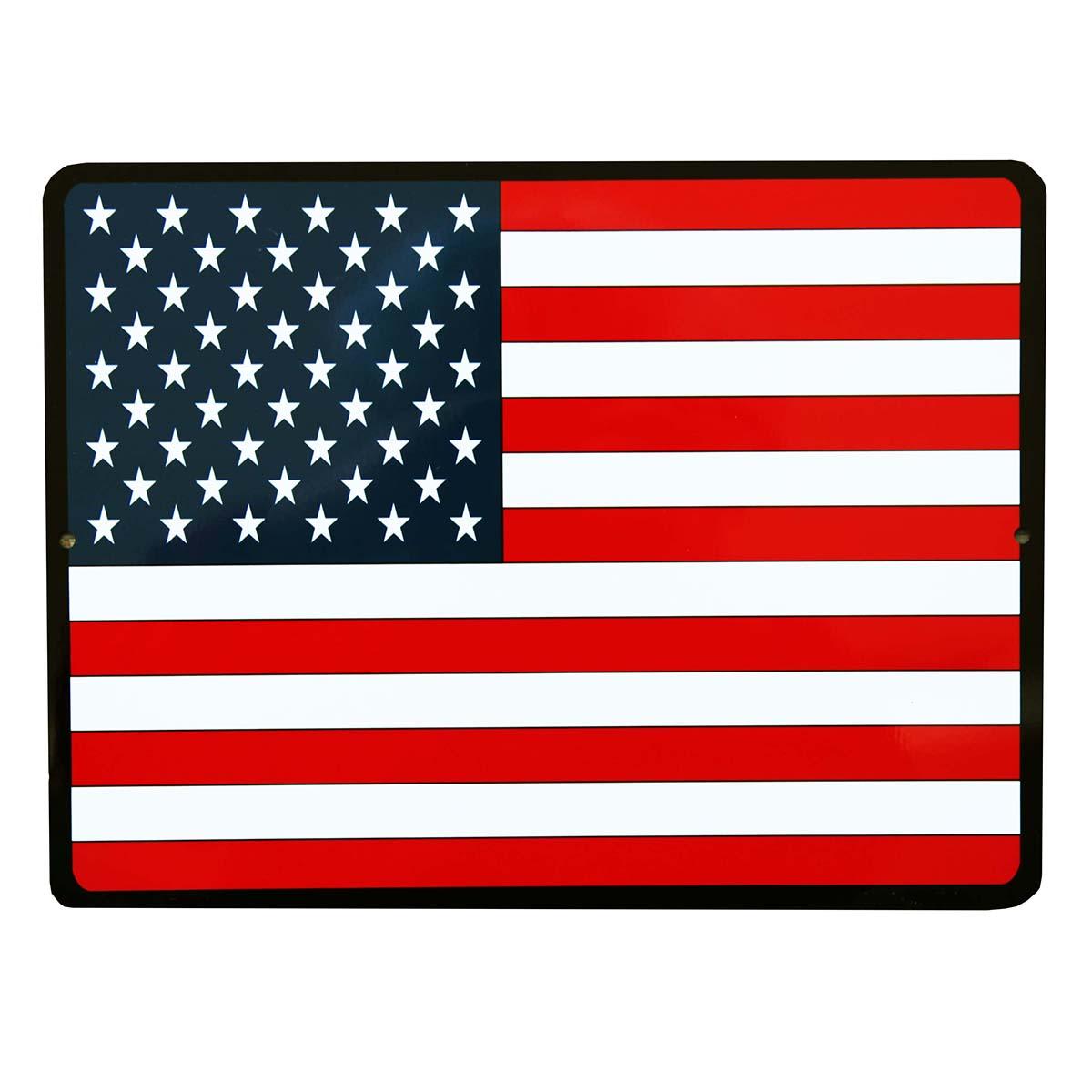 画像1: アメリカンフラッグ 星条旗 メタルサイン/Metal Sign  (1)