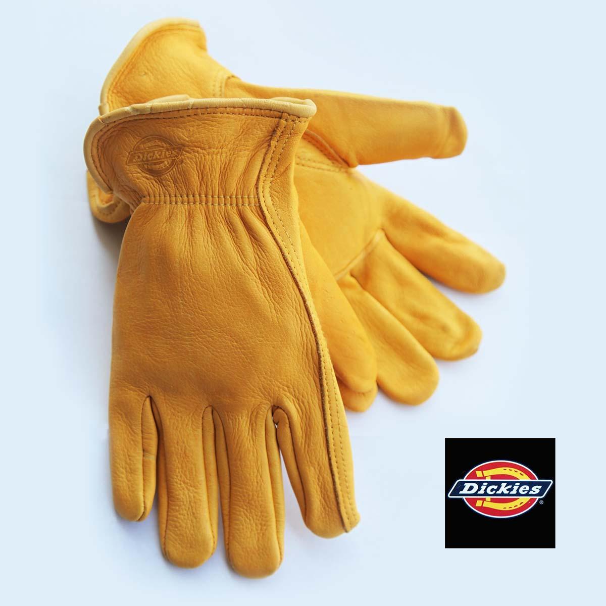 画像1: ディッキーズ ディアスキン グローブ(鹿皮手袋)M/Dickies Genuine Deerskin Leather Gloves (1)