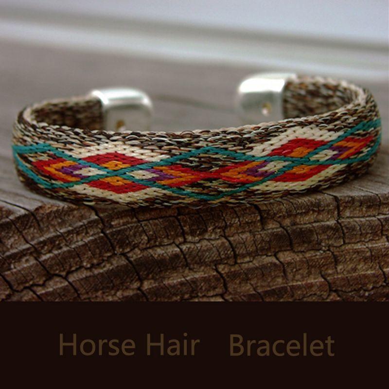 画像1: ホースヘアー ブレスレット/Horse Hair Bracelet